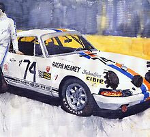 Porsche 911 Sebring 1970 Ralf Meaney by Yuriy Shevchuk
