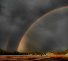 Double Rainbow  by Shelly Harris