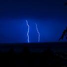 Lightning over Malacca, Malaysia by palmerphoto