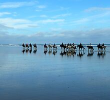 Riding into the blue by mikebov