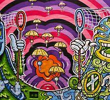 Melbourne Graffiti by Tony Walton