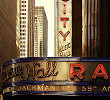 Radio City Music Hall, New York City by Reinvention