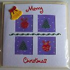 Christmas Squares 195x195mm by fizfuller1