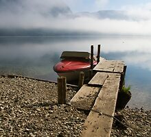 Misty Bohinj by Ian Middleton