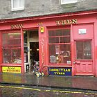 Old Shop in Edinburgh by Peter Telford