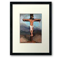 Christ, Beyond the Rapture Framed Print