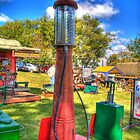 Antique Gas Pump by ECH52