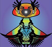 Punk Alien Bird by Sanoop Sreedharan