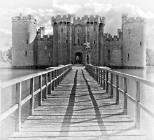 Bodiam Castle, East Sussex, England (2) by Bob Culshaw