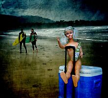 Rolling Rock Beach BARBIE by Myillusions