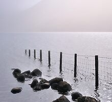 Misty morning, Wastwater by Dave Lawrance