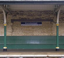 Knaresborough Railway Station, Yorkshire by Peter Telford
