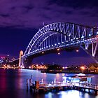 Sydney, the Opera House & the Harbour Bridge by Tony Walton