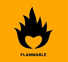 Flammable heart by DanielRomero