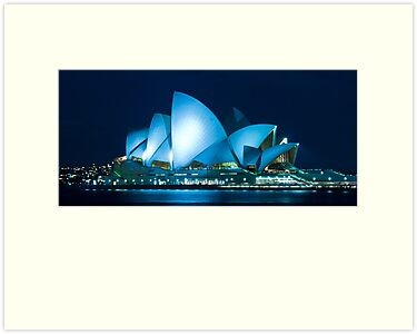 Sydney Opera House by Tony Walton