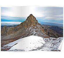 Mount Kenya - Looking North-West towards Nelion Poster