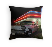 My Dream Car Throw Pillow