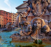 Pantheon Fountain by Inge Johnsson