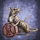 Chinese Zodiac - The Rat by Stephanie Smith