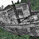 Ghost ship by Bob Hortman
