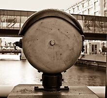 Bell on Drawbridge Milwaukee WI USA by GJKImages