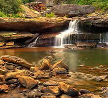 Glade Creek Grist Mill  by Gregory Ballos | gregoryballosphoto.com