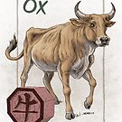 Chinese Zodiac - the Ox by Stephanie Smith