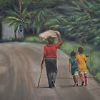 St. Lucian Walkers by Rose Mary Gates