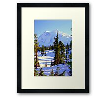 """""""The Mighty Mountain"""" Framed Print"""