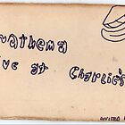Anathema: Live At Charlie's ~1971 Cover art by Stacey Lazarus