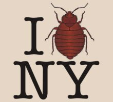 Bed Bugs Love New York by Brother Adam