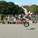 Unicycle Jumper by andytechie