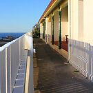 Best View In Town - Original Lighthouse Keeper's Cottage, Cape Byron  by Bree Lucas