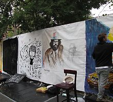 Art Around the Park. Tompkins Square Park. Sept 11 by John Sunderland