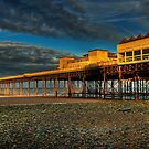 Victoria Pier by Adrian Evans