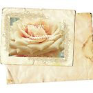 Vintage & Rose.Card. by Vitta