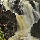 Waterfall - Fort Colunge, Quebec by Michael Cummings