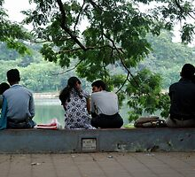 Lovers corner by JYOTIRMOY Portfolio Photographer