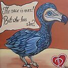 Dodo - Alice in Wonderland Inspired Art by Jaz by Jaz Higgins