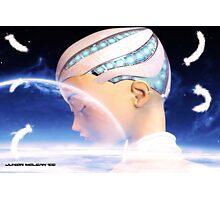 A Cyborg Dreams Photographic Print