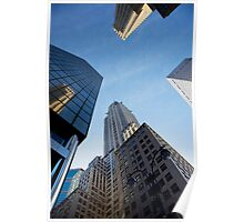 New York City Skyline Empire State Building Poster