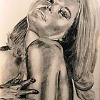 Shirley Eaton from Goldfinger by Joseph Barbara