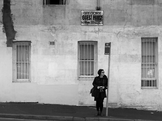 A Photographer in Erskineville by Ben Loveday