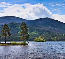 Classic View, Loch an Eilein, Scotland. UK by David Lewins