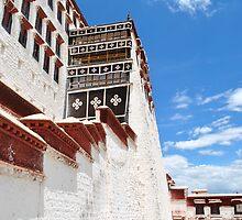 Snow Castle - Potala Palace, Tibet by xuyichi
