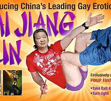 "Fake billboard ""promoting"" eBay rip-off artist Cai Jiang Xun by Paul Richmond"