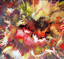 Colourful Acrylic Fluid Painting - Mark Chadwick by markchadwick