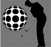 Golfer by Keith Richardson