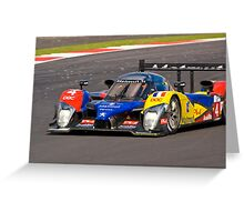 Team Oreca Matmut Peugeot Greeting Card
