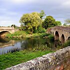 River Avon, Pershore, Worcestershire by LisaRoberts